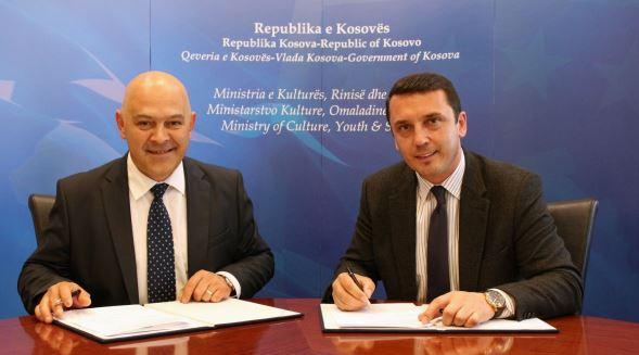 Ministri Gashi nënshkruan memorandume bashkëpunimi me komunën e Gjakovës