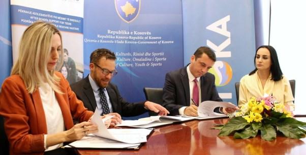 MKRS-ja mbështet organizimin e tri kampeve për të rinj