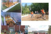 Fillojnë punimet e një parku në qytetin e Suharekës