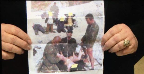 Deputetja e PDK-së publikon një fotografi ku shihet se si tre serbë e dhunojnë një grua shqiptare
