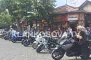 """Veteranët kroatë """"pushtojnë"""" Prizrenin me motoçikleta (FOTO/VIDEO)"""