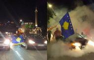 Atmosfera festive në Prizren, pas fitores historike të Kosovës ndaj Bullgarisë (Foto)