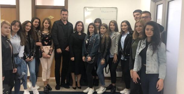 """Studentët nga Universiteti """"Ukshin Hoti"""" vizituan Prokurorinë Themelore në Prizren"""