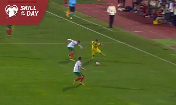 Rashica merr sërish vëmendjen e UEFA-s, tani me kalimin e bukur ndaj Bullgarisë