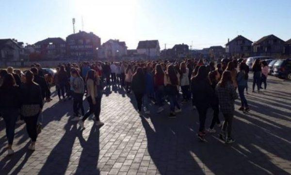 Landovicë, shëtitja e nxënësve shndërrohet në ankth (VIDEO)