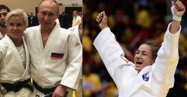 Rusen që e rrëzoi Putinin në xhudo, Majlinda e deklasoi