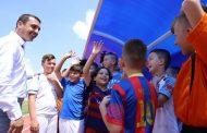Përurohet Stadiumi në Kamenicë dhe nënshkruhen dy memorandume, Gashi premton mbështetje edhe për projekte në fushën e trashëgimisë