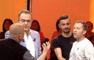 Ardit Gjebrea goditet live në emision (FOTO & VIDEO)