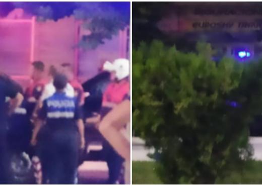 Rrahën policët që ndërhynë të shuajnë sherrin, pamjet live të arrestimit (VIDEO)