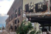 """Fotografi nga rrënimi i objektit pa leje të objektit """"Abi Çarshia"""" në Prizren"""