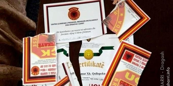 E shqyen certifikatën – Thotë se nuk është pjesëmarrës,  por veteran!