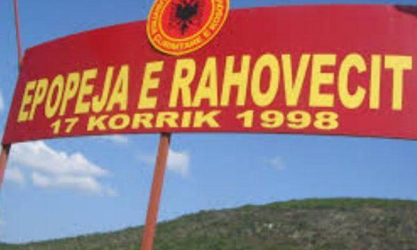 """Përkujtohen dëshmorët e """"Betejës së Rahovecit"""" (Foto)"""