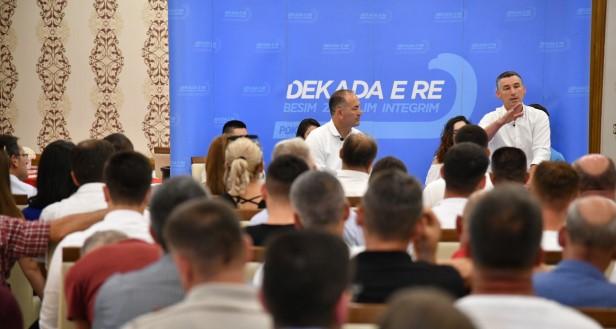 Veseli në Suharekë: PDK po forcohet që ta zhvillojë Kosovën