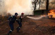 Zjarrfikësit përpjekje për neutralizimin e zjarrit në ishullin Eube të Greqisë
