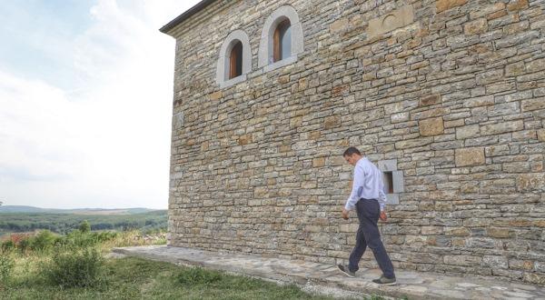 Gashi ka inspektuar punimet në renovimin e Kullës së Azem Galicës
