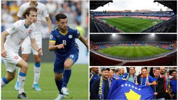 Çekët ndryshojnë mendje, ndeshjen me Kosovën e zhvendosin nga Praga në Plzen