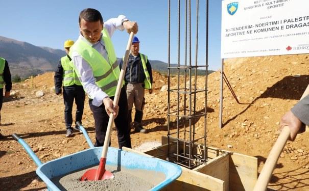 MKRS-ja investon 1.6 milionë euro në palestrën sportive në Dragash