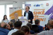Limaj në Dragash: Koalicioni Nisma-AKR-PD po shkon drejt zgjedhjeve me objektiva të qarta