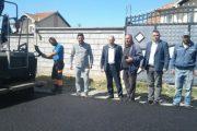 Asfaltohen 1.3 kilometra rrugë në Stapanicë të Malishevës