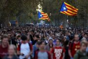 Barcelona paralizohet nga protestat