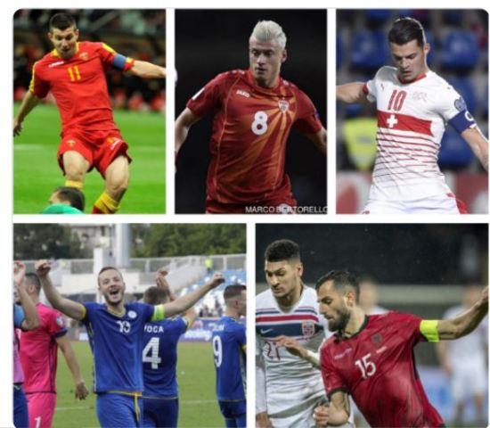 Pesë shtete të ndryshme, pesë kapitenë të ndryshëm me rrënjë të njejta