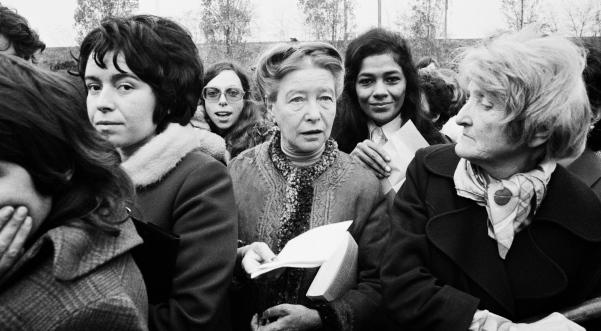 Simone de Beauvoir, ikona e feminizmit