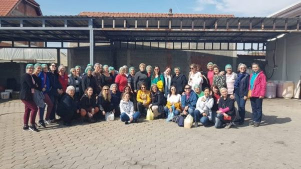 Gratë e Krushës marrin mbështetje nga Klubi i Grave Ndërkombëtare