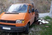 Hodhi mbeturinat inerte në natyrë, fillon procedura për kundërvajtje kundër  një  qytetari nga Prizreni