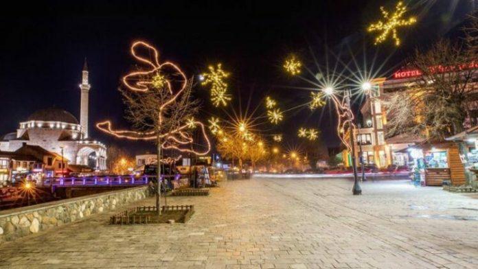 Dekorimi për festat e fundvitit, Prizreni si vjet edhe sivjet