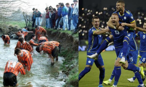 Gazeta zvicerane: Kosovarët dikur laheshin në lumë, sot mund të kualifikohen në Evropian