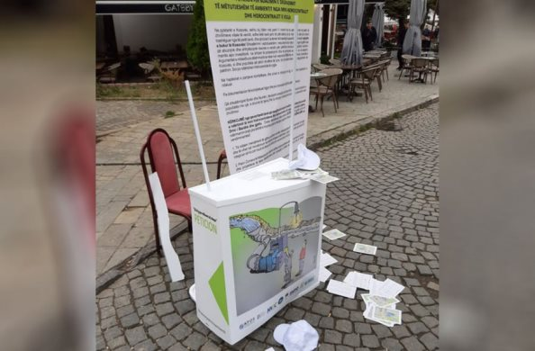 Prizren/ 1 muaj paraburgim personit që sulmoi shtandin e peticioneve kundër hidrocentraleve