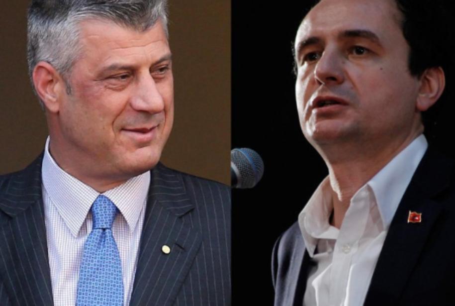 Kurti e fton Thaçin të shmangin dallimet përballë Serbisë