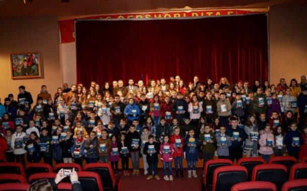Hoti dhuron 318 sete librash nxënësve fitues në Malishevë