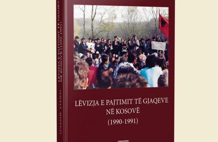 """""""Lëvizja e Pajtimit të Gjaqeve  në Kosovë 1990-1990"""", monografi historike"""
