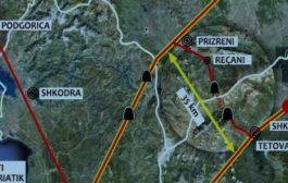 Këto janë tri variantet e rrugës Tetovë-Prizren me gjatësi 60 kilometra