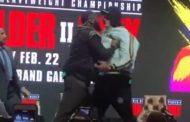 Tensione të mëdha para meçit, përplasja Fury – Wilder në konferencën e fundit