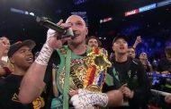 Tyson Fury befason me veprimin e tij pas fitores së madhe ndaj Wilder