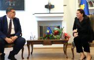 Ministrja Dumoshi uron mundësin Shala, ekipi olimpik i Kosovës do të përkrahet nga shteti