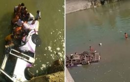 Autobusi me dasmorë bie në lumë, humbin jetët 24 persona