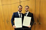 Dy vëllezër  nga Zhuri, dy doktorë për një ditë në Zvicër